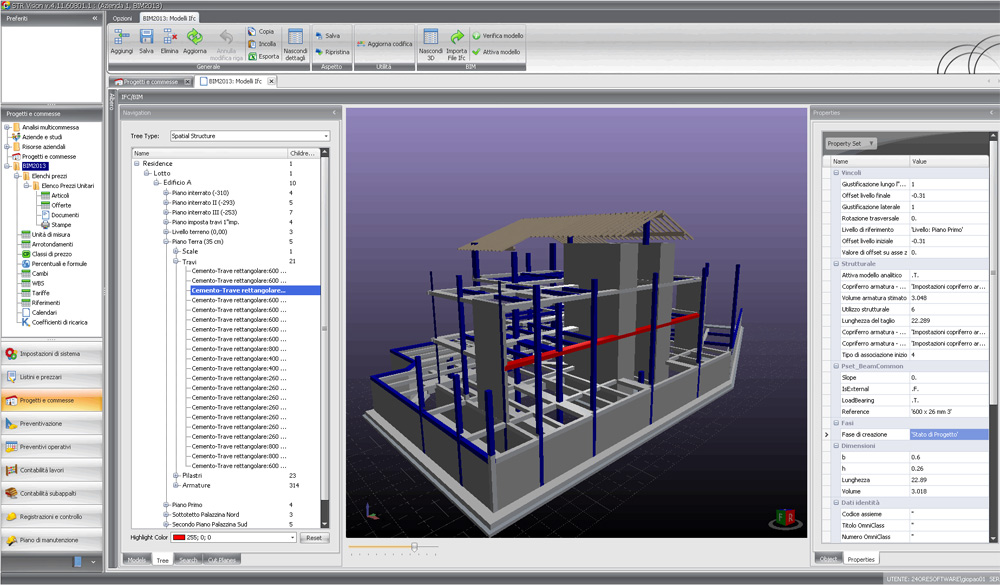 IFC standard is the IFC format we use for BIM projects   STR