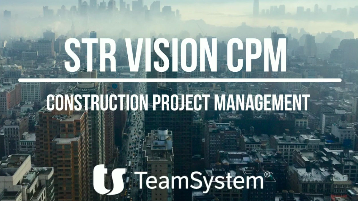 Video demo construction project management software str for Str vision cpm